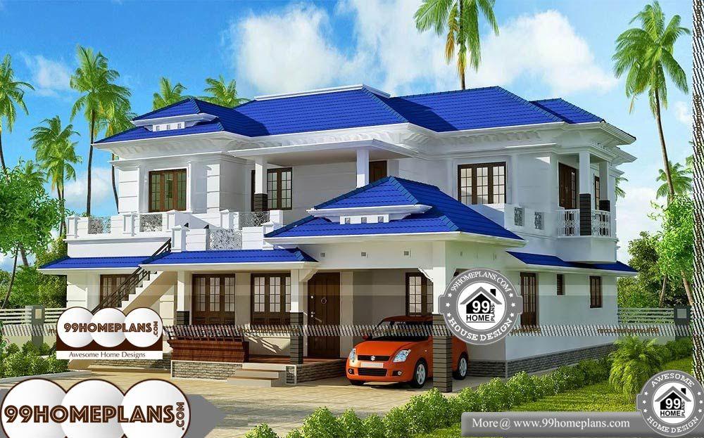 Beach Home Plans For Narrow Lots - 2 Story 3080 sqft-Home ...