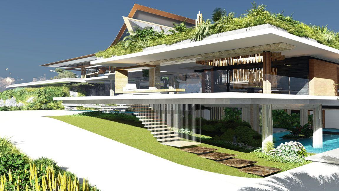Villa-Xalima-12 en 2020 | Architecture moderne, Maison design et Plan maison
