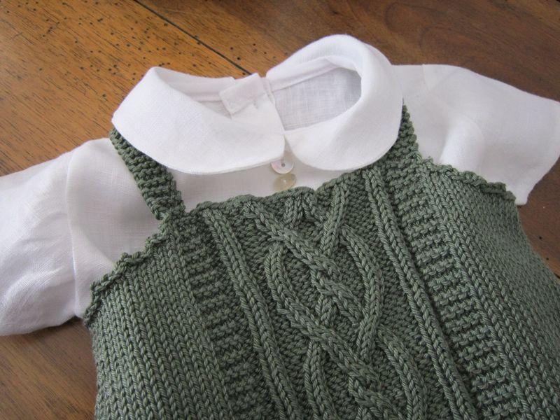 le trousseau de bébé , coton et lin
