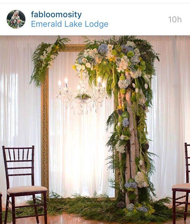 Gorgeous wedding ceremony backdrop | Wedding Decor Ideas | Pinterest ...