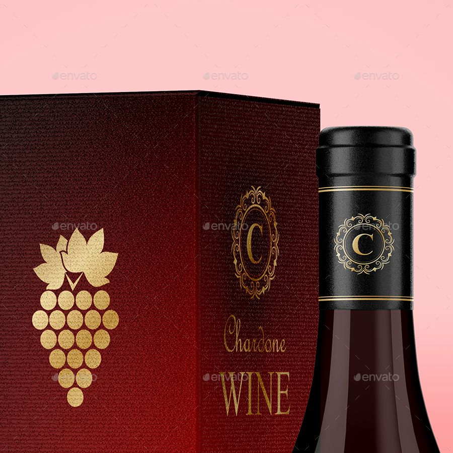 Wine Packiging Mockup With Images Wine Wine Box Buy Wine