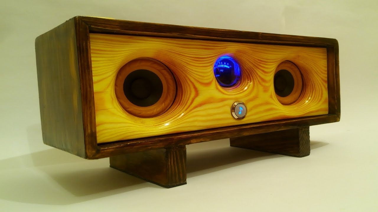 Handmade Wooden Bluetooth Speaker. #diy #diyhome #diyaudio ...