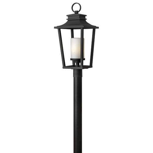 Hinkley sullivan black outdoor post light fixture outdoor post sullivan black outdoor post light fixture hinkley post mounted outdoor post lighting outdo aloadofball Image collections