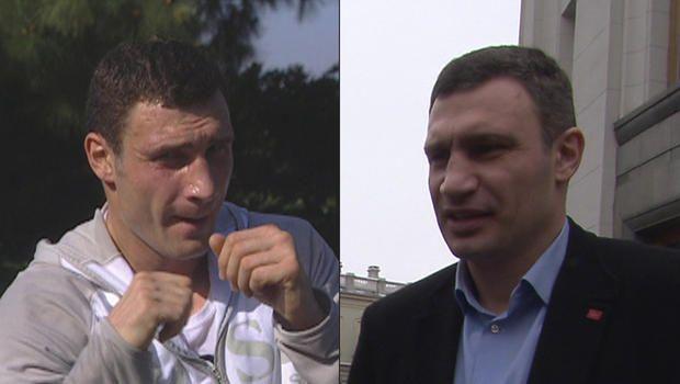 From Boxer to politician: Vitali Klitschko CBS VIDEO