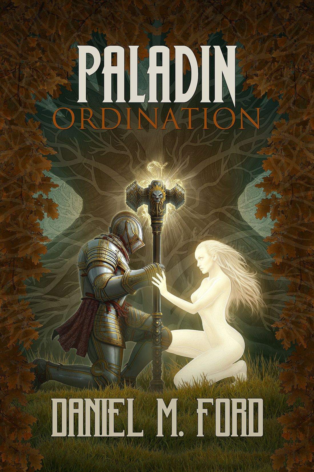 Paladin - Ordination Cover (Kerem Beyit) - cover art for Ordination: Book One of the Paladin Trilog
