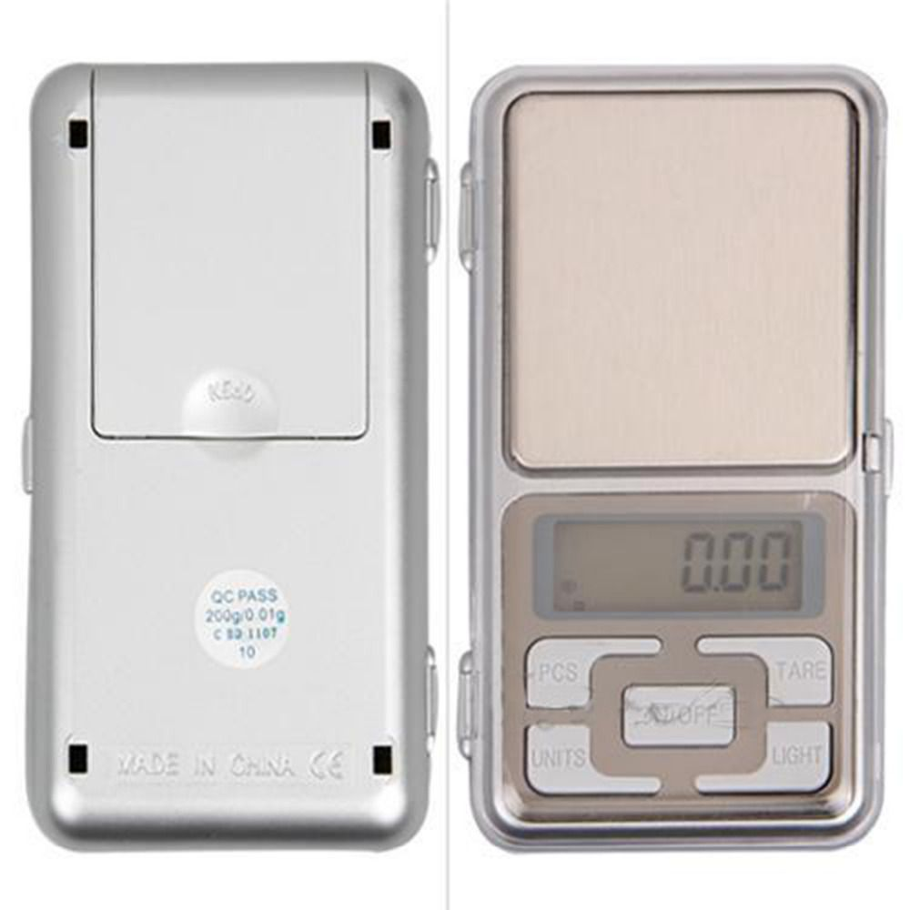 Practical 100g x 0.01g Mini Digital Pocket Scale Balance Jewel Precision Lcd Display Gram Electronic Weighing Scale High Quality
