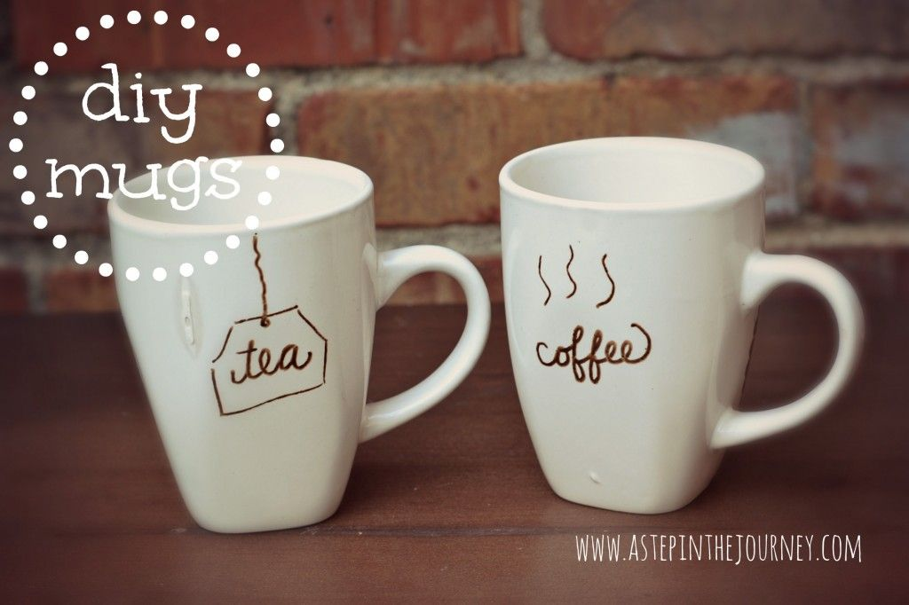 diy mugs from the dollar tree using decoart glass pens not sharpies from http www. Black Bedroom Furniture Sets. Home Design Ideas