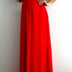 Červené plesové maturitní šaty Neznačková - foto č. 1 019295854d7