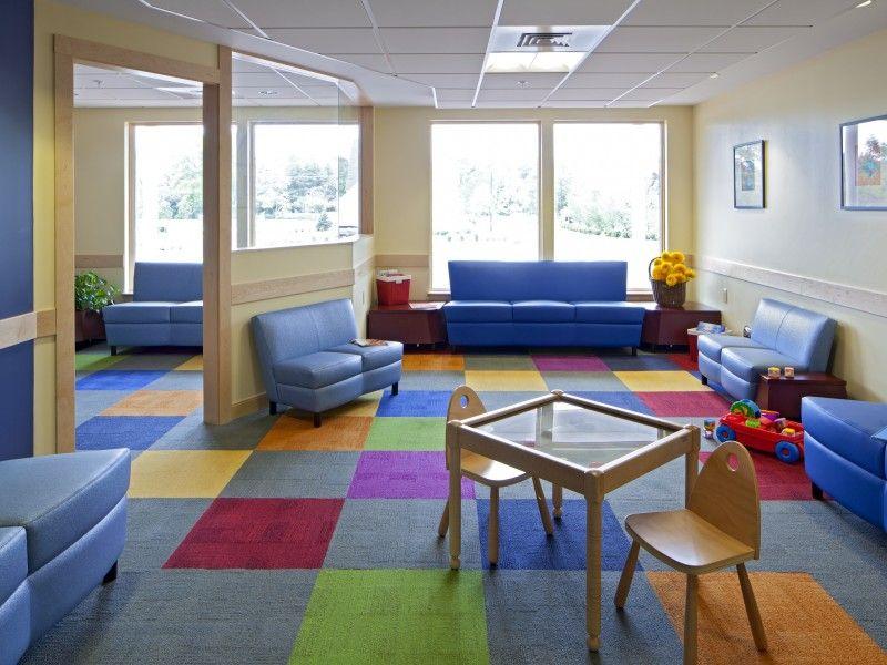 The pediatrics waiting room at InterMed in Yarmouth
