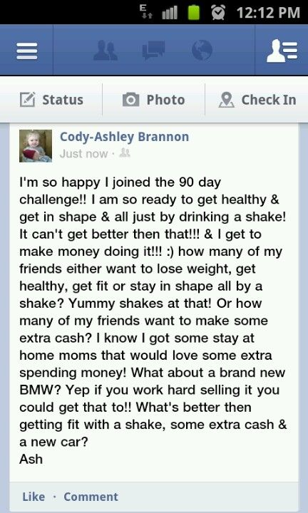 I know there's many people who would love to be apart of this amazing challenge! Just let me know & I can help you jump aboard!! -Ashley