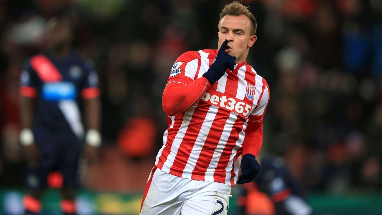 Pin On Soccer Http Www Espn In Football Stoke City Story 2913371 Stokes Xherdan Shaqiri Calls Borussia Dortmund Rumours Nonsense