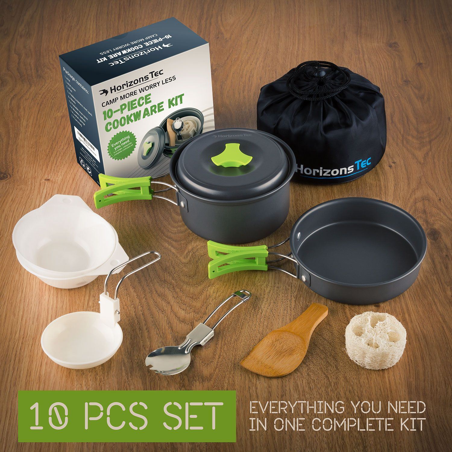 Stainless Steel Camping Cooking Gear Awesome Outdors Survival