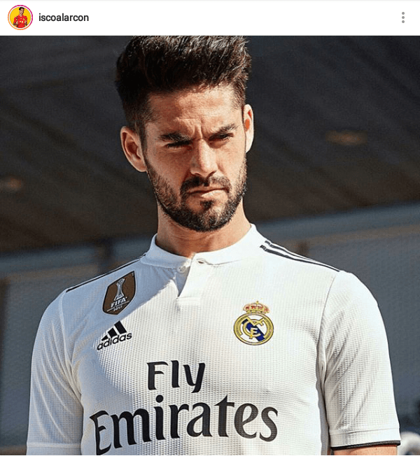 Isco 460x500 20 Most Hottest Players From 2018 Fifa World Cup Isco Isco Alarcon Real Madrid Football