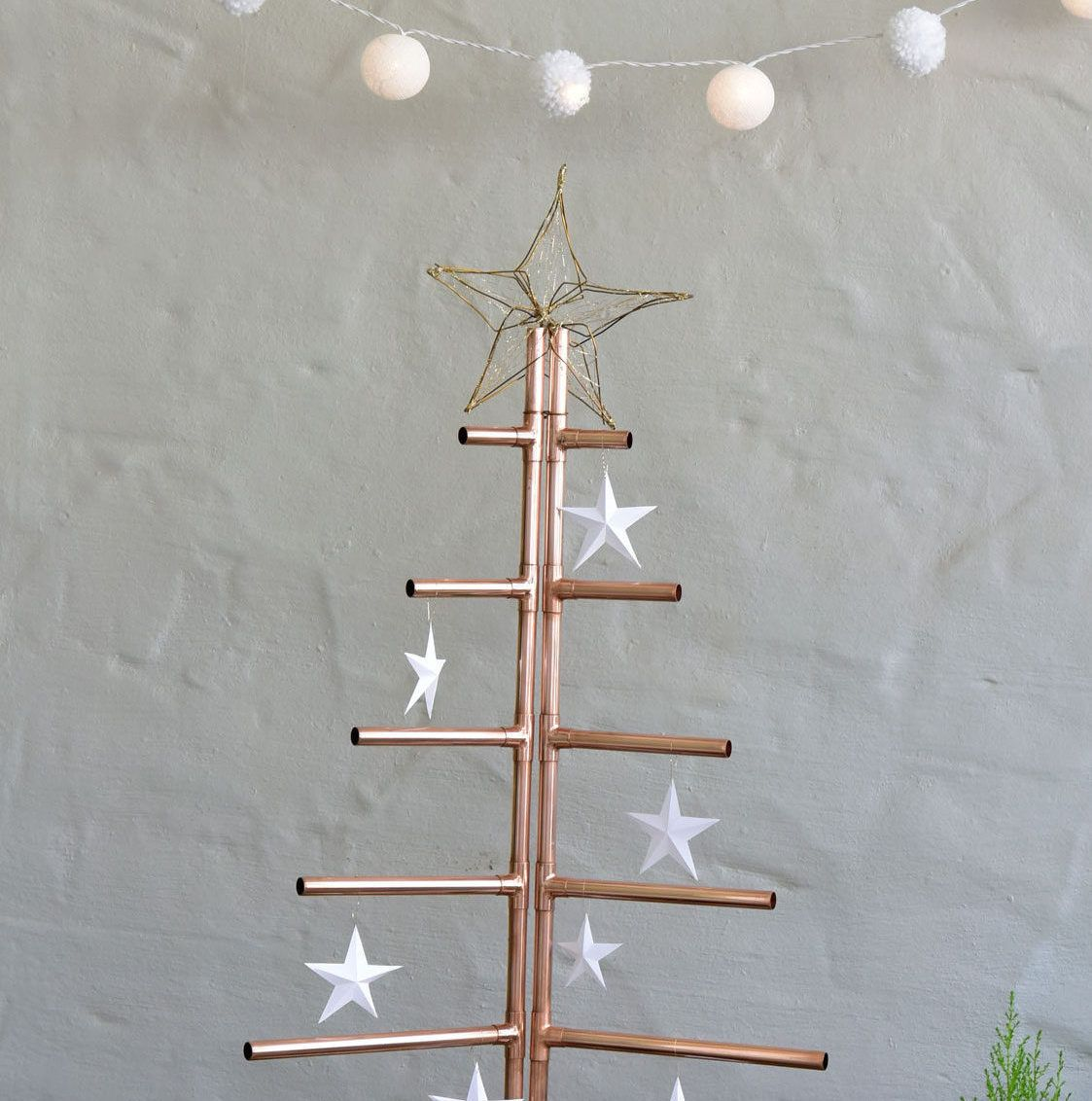 Make Alternative Christmas Tree: Make A Christmas Tree From Copper Piping