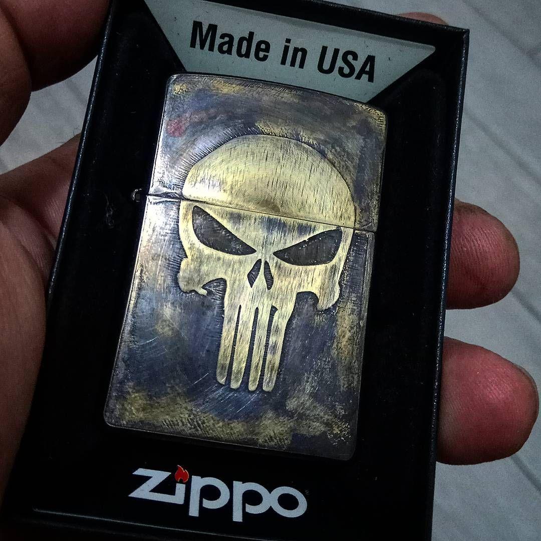 Custom Zippo The Punisher Skull Zippo Lighter Punisher Punisher Skull