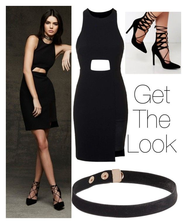 """""""Get The Look : Kendall Jenner"""" by weirdcass on Polyvore featuring Topshop, Lulu*s, women's clothing, women, female, woman, misses and juniors"""