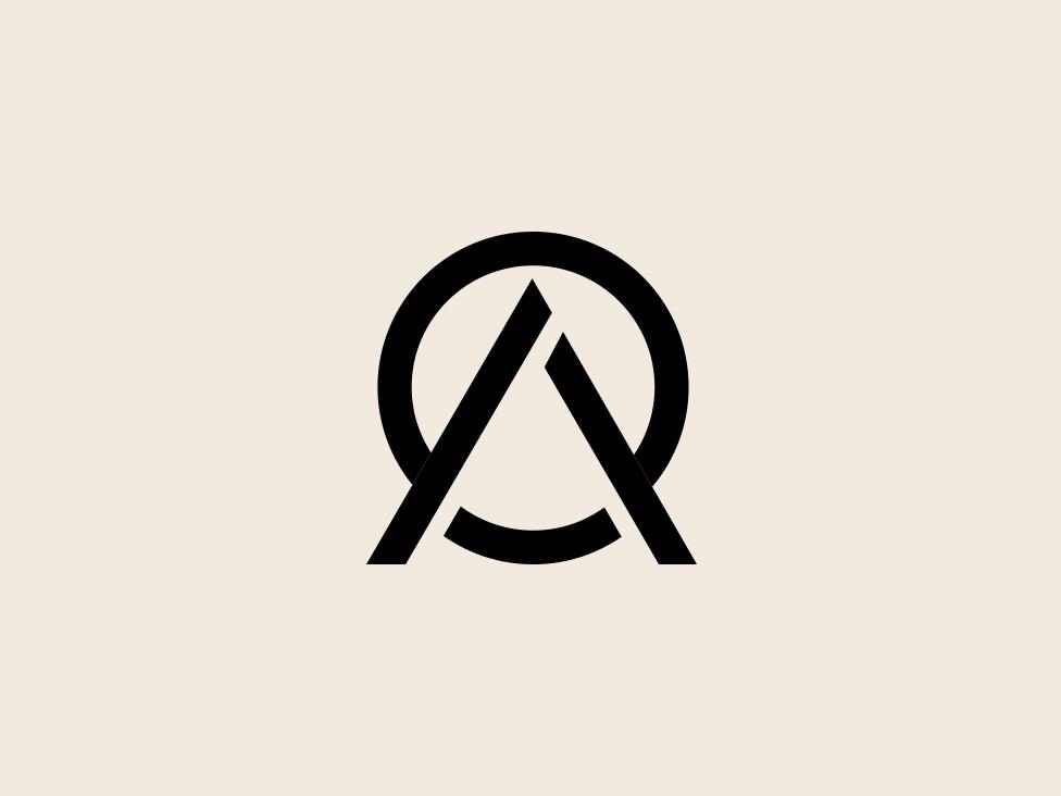 Minimalist Logo Minimal Logo Minimal Ao Oa Ao Icon Minimalist Logo Minimal Logo Design Minimal Logo Design Inspiration