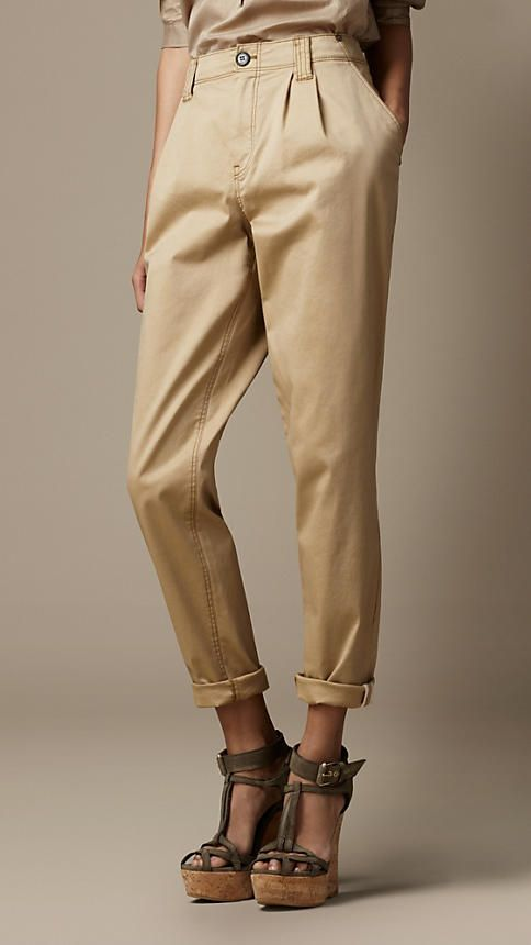 TROUSERS - Casual trousers Burberry bFp98