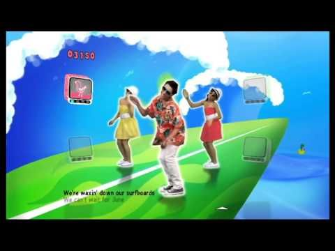 Just Dance Kids Surfin Usa Youtube Con Imagenes Ninos