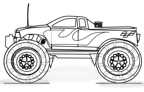 Pin By Lisa Franke On Giveaways Race Car Coloring Pages Cars Coloring Pages Monster Truck Coloring Pages