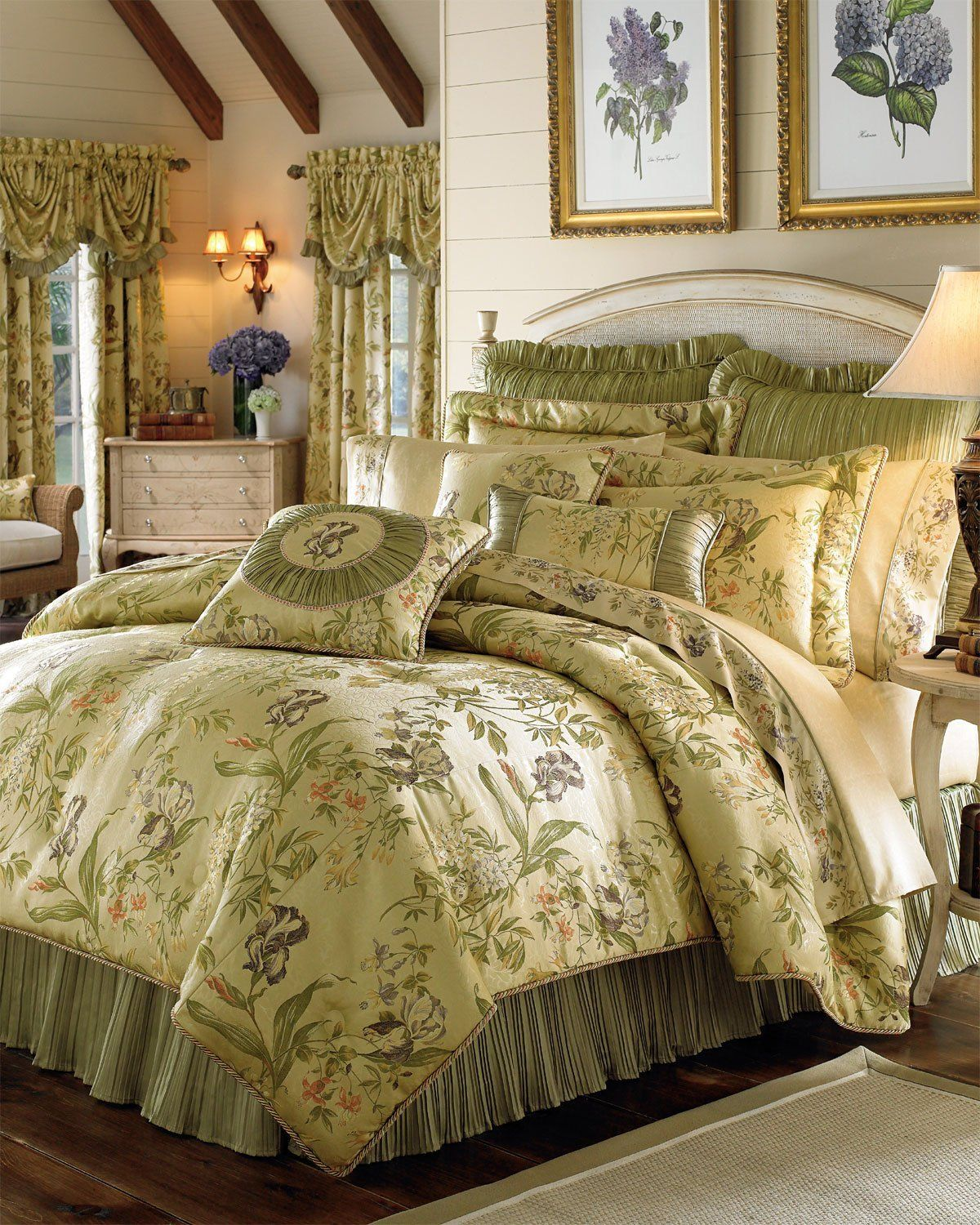 Croscill Rose Garden Comforter Set - Garden Inspiration