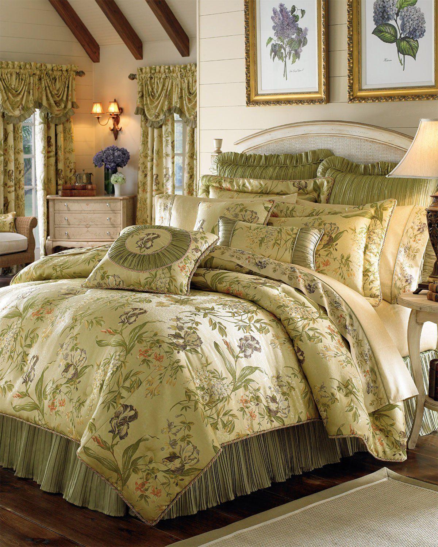 amazoncom croscill iris comforter set king multi croscill bedding sets - Multi Bedroom Decor