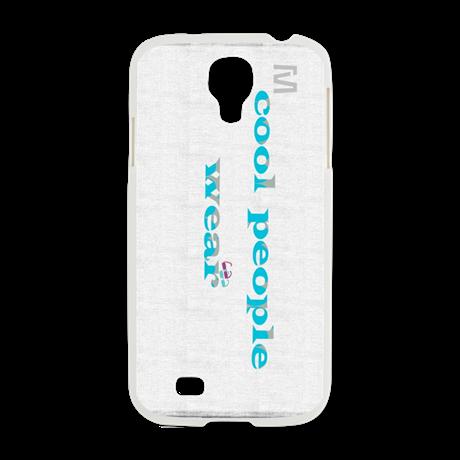 Cool People Wear Mint Grey Samsung Galaxy S4 Case