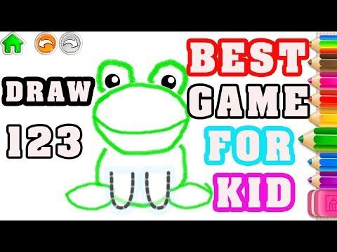 Game For Kid 123 Draw! Counting for kids | Game For Kid- Game Draw ...