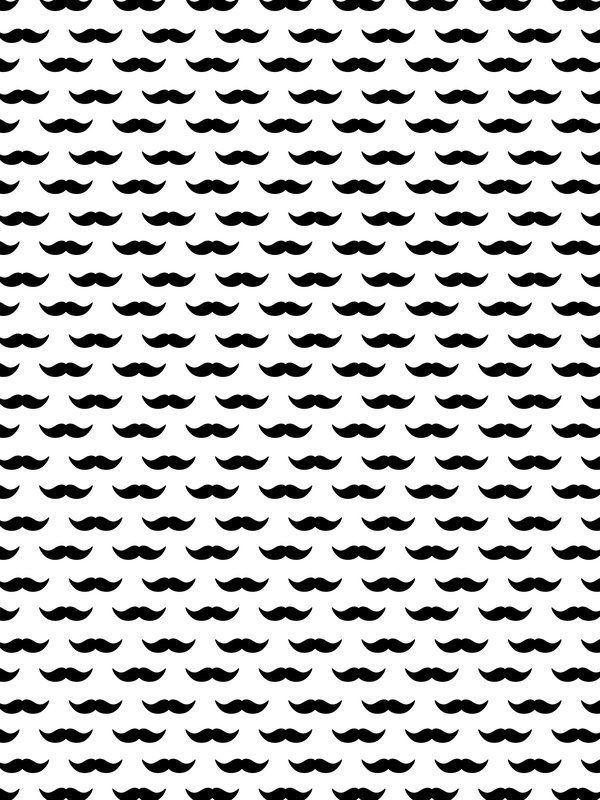 Printable Mustache Pattern Mustache Pattern - UrbanArts box top
