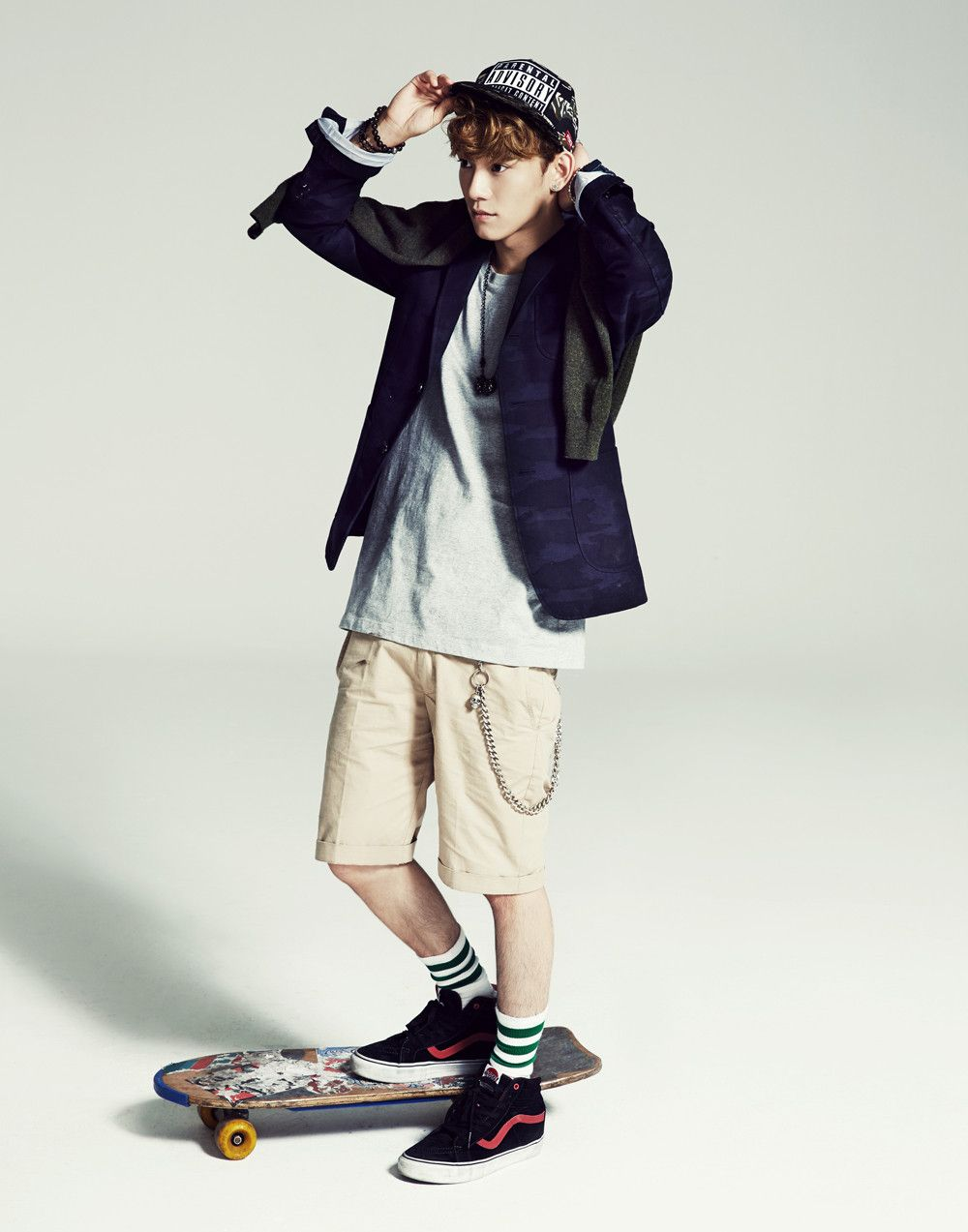 exo   : :  2014 calender chen cut  #exo #12 #kpop #smboys #kpopmap #chen #jongdae #exom