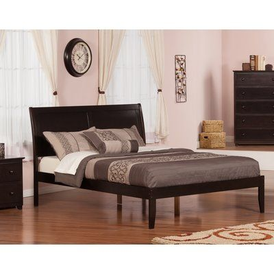 Red Barrel Studio Ahoghill Bed Finish: Espresso, Size: Queen ...