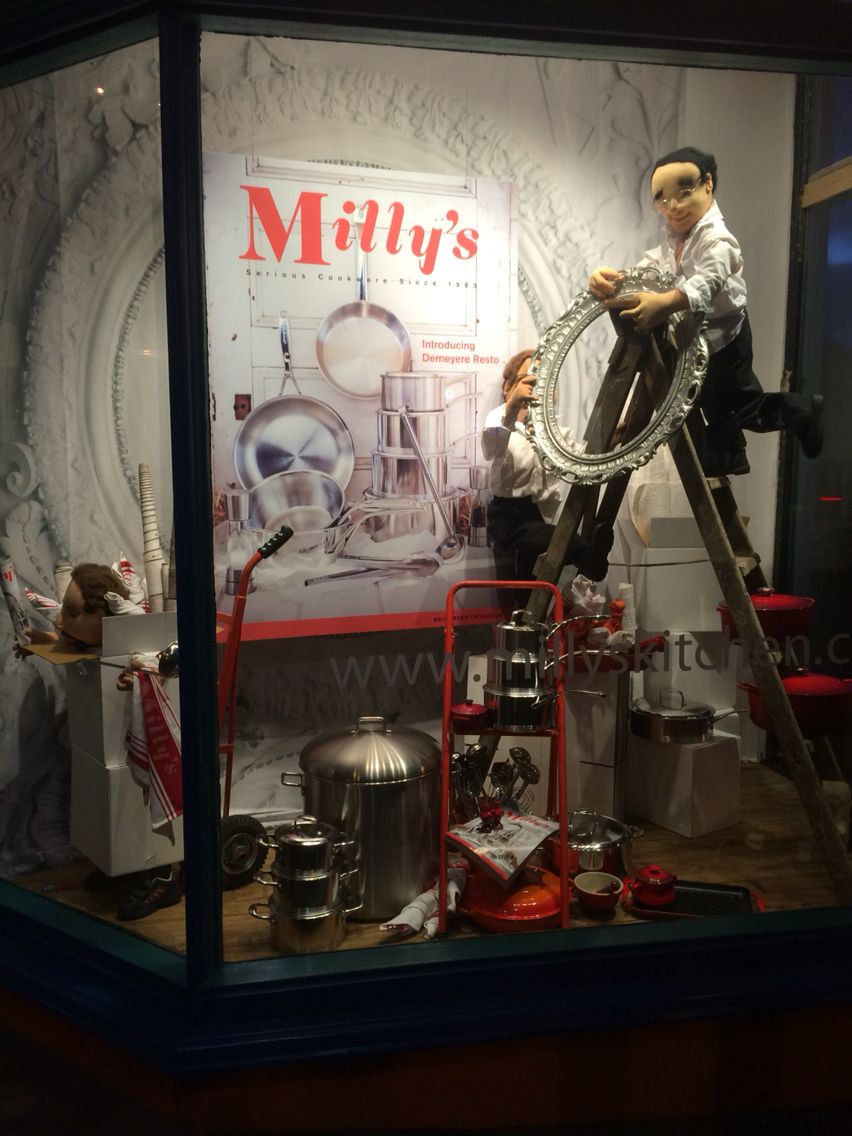 Window display ideas  millyus kitchenshop ponsonbyauckland new zealand