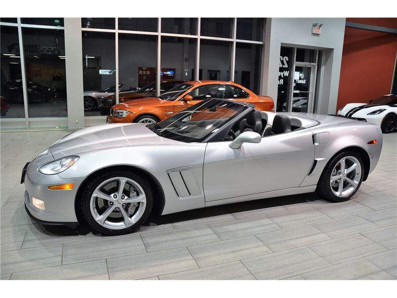 2012 Chevrolet Corvette Grand Sport 3LT With Only 31.073