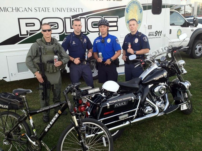 Michigan State University Police fuel up with Xyience