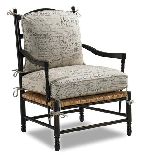 The Sam Moore Eastwick Exposed Wood Chair   Linen Is A Classically Shaped Country  French ...