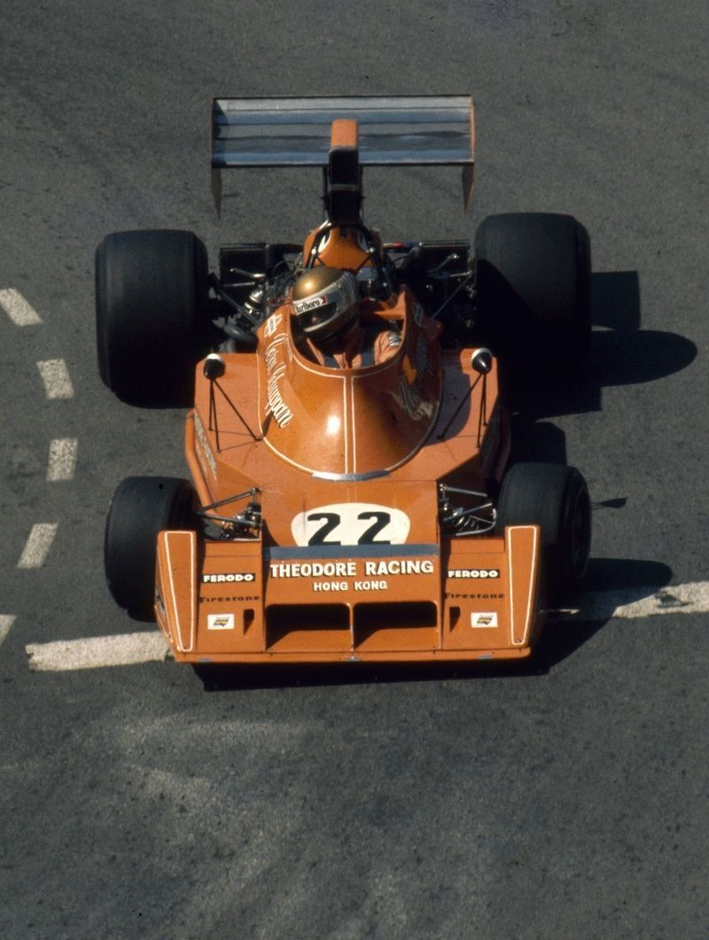 Ensign N174 - Ford driven by Vern Schuppan at the 1974 Monaco Grand Prix