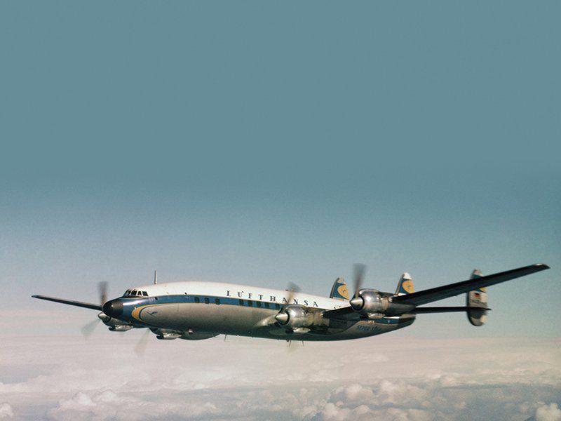Lockheed's L-1649 Starliners