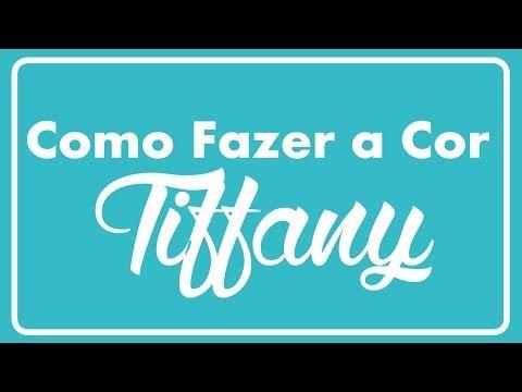 Veja Como Eu Faco As Cores Azul Tiffany E Verde Vintage Youtube Diy Tiffany Vimeo Logo