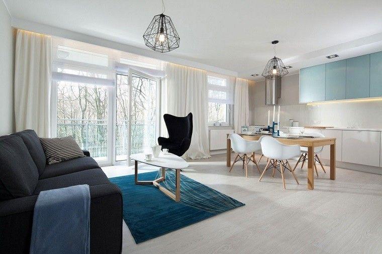 Diseño cocinas abiertas al salón prácticas y funcionales | Cocinas ...