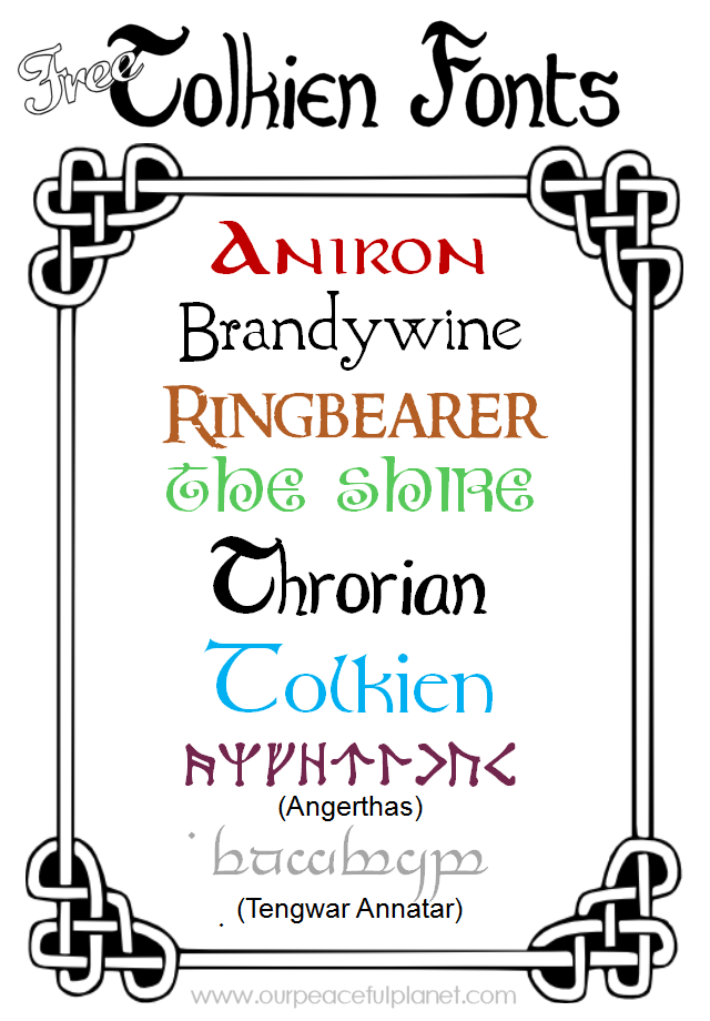 Tolkien font related keywords & suggestions tolkien font long.