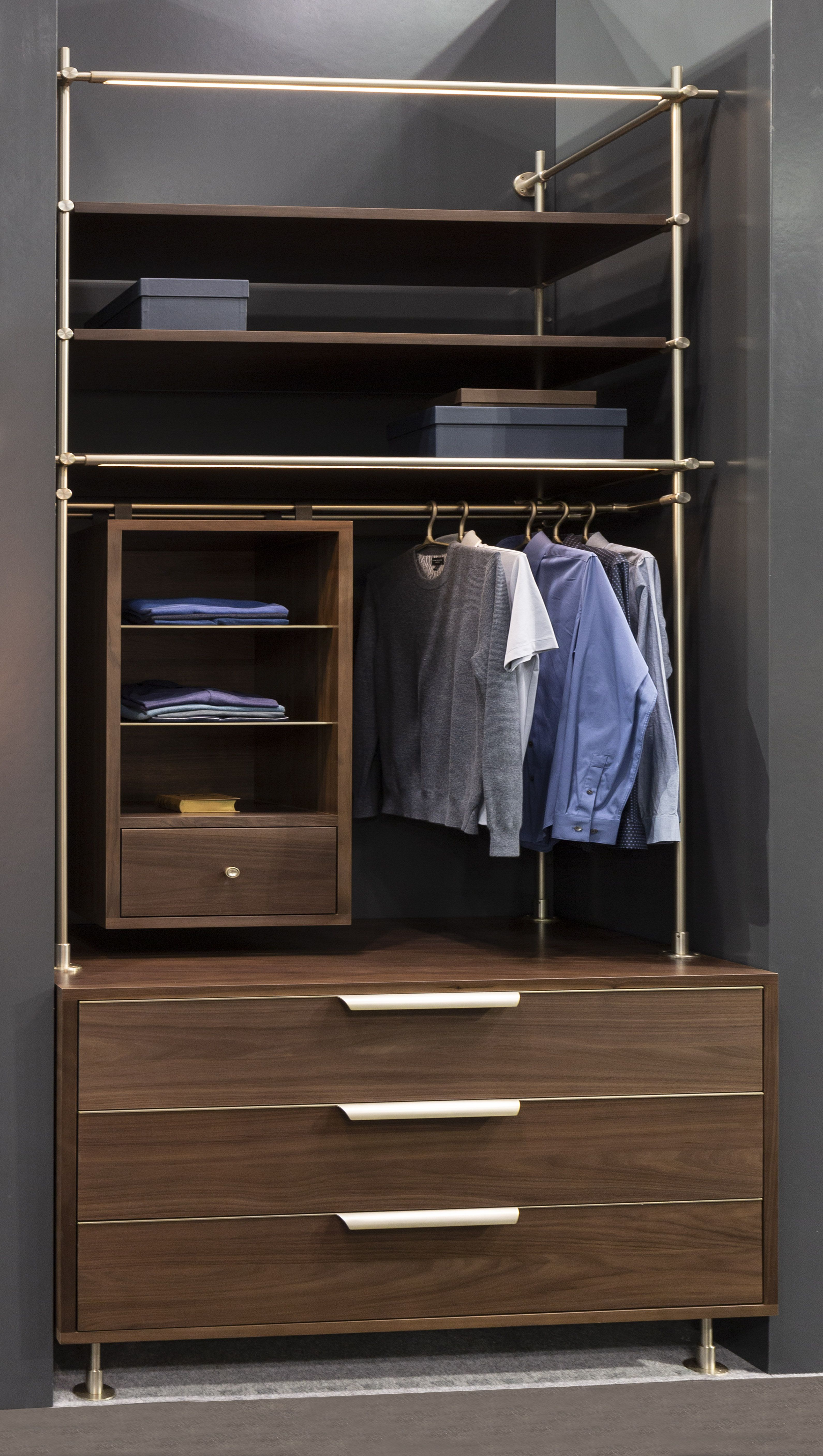 A Modern And Fully Customizable Wardrobe Perfect For Mensware An