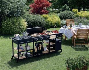 Kochfeld Für Außenküche : Bst magnum außenküche außenküche aussenküche