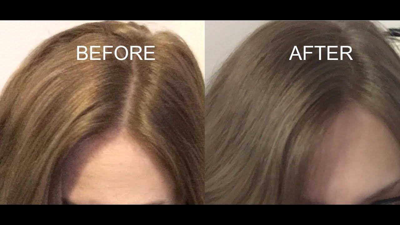 How To Tone Brassy Dark Hair Youtube Toner For Brown Hair Dark Blonde Hair Color Dark Blonde Hair