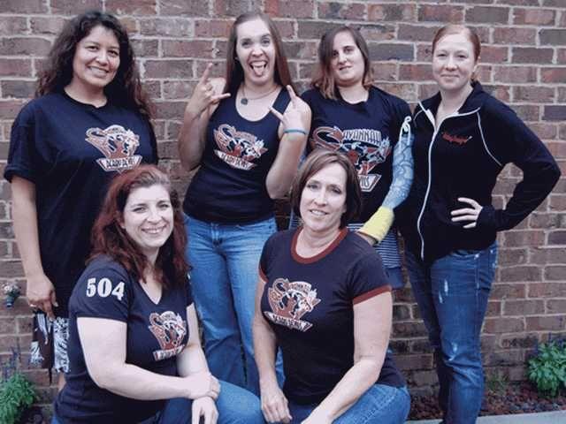 Roller derby rolls with local women Roller derby, Local