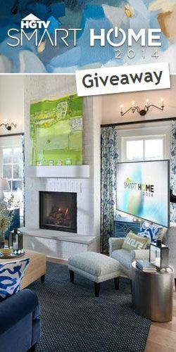 hgtv smart home 2014 giveaway contests smart home hgtv giveaway. Black Bedroom Furniture Sets. Home Design Ideas