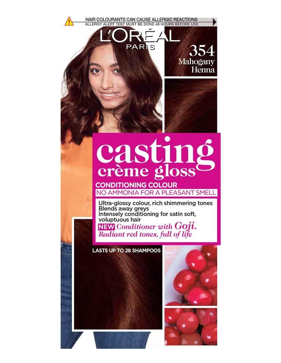 Casting Creme Gloss 530 Praline Semi Permanent Co Loreal Casting Creme Gloss Loreal Creme