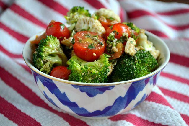 Secret Recipe Club: Broccoli Cauliflower Salad