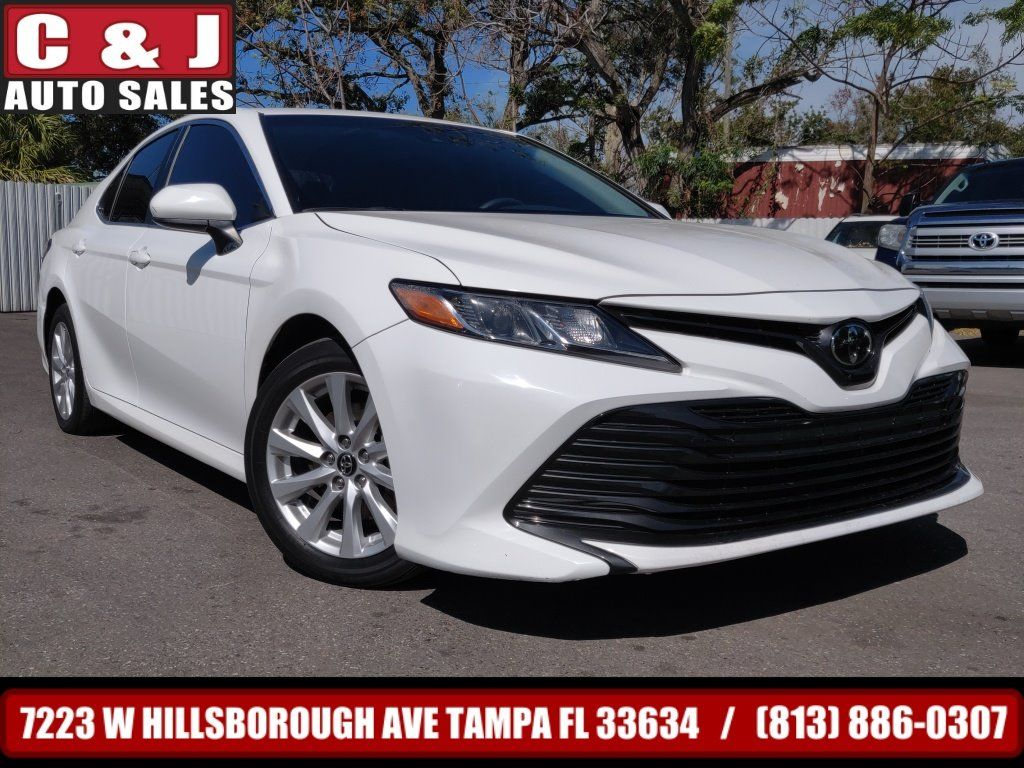 2018 Toyota Camry C & J Auto Sales Tampa fl in 2020