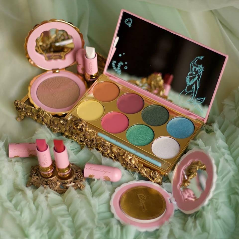 Besame Cosmetics Peter Pan Mermaid Lagoon collection