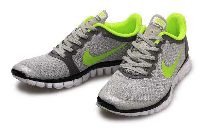 best cheap c81a0 2cfe9 Nike Free 3.0 V2 Womens Neon Grey Fluorescent Green running 354749 171. http   www.brandcn.ru  Nike shox caps, air max 90